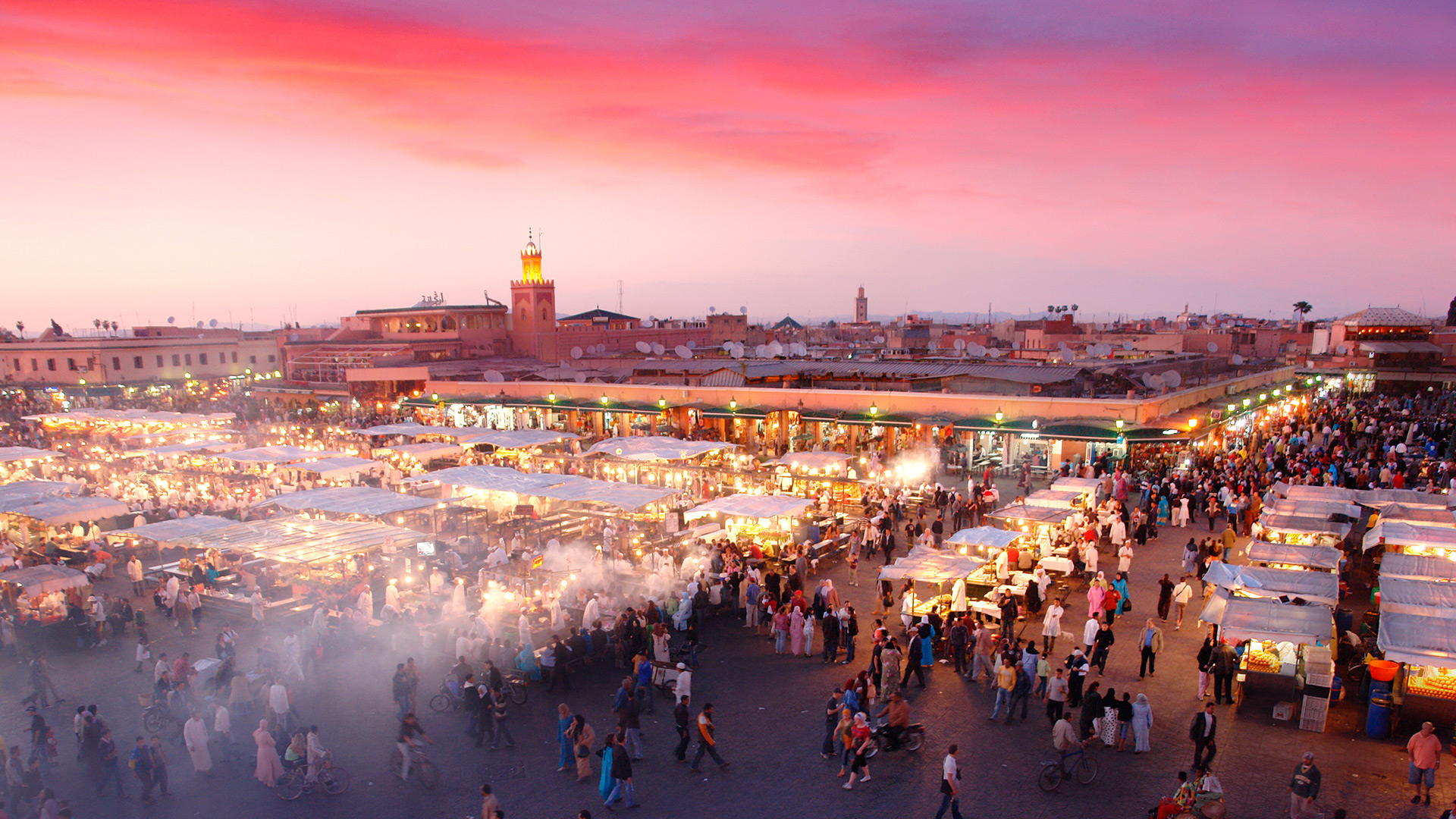 Djemaa el-Fna Square in Marrakesh