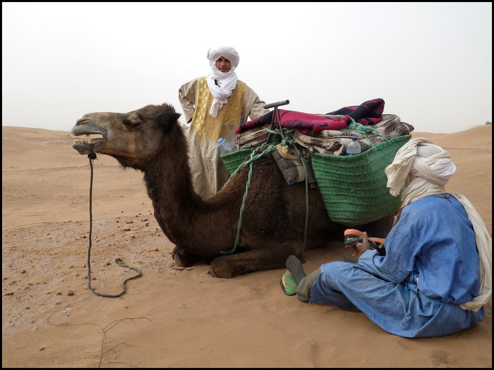 Client blog 'the luxuries of a nomad'