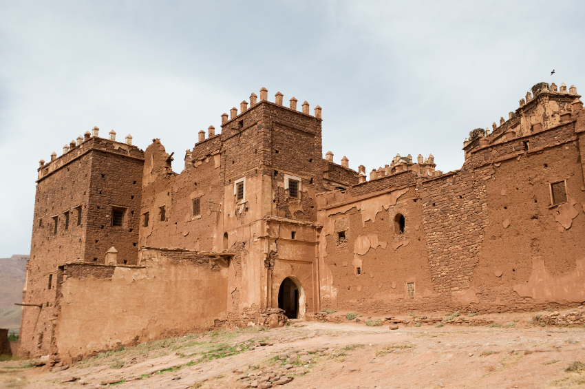 Kasbah Telouet and the Glaoua family