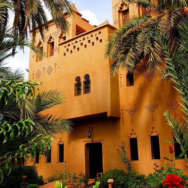 Kasbah Azul – an oasis amongst the palms