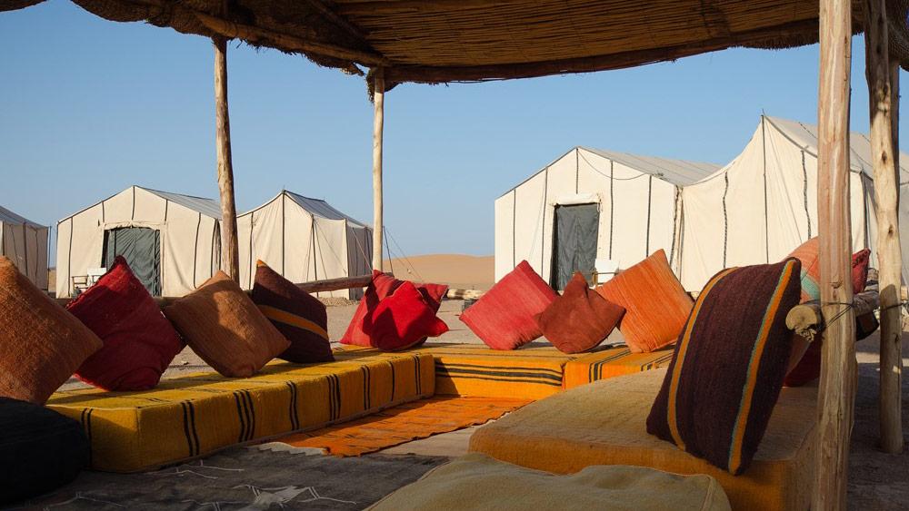 Private Desert Camp Nomadic Camping In Morocco