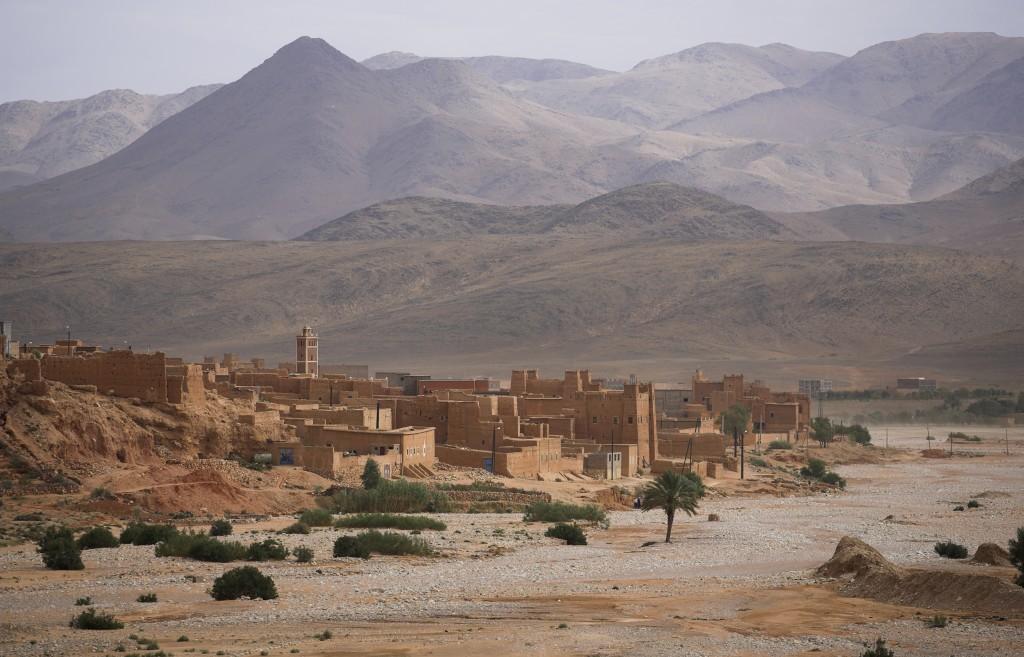 Atlas Mountains and Sahara Desert Morocco