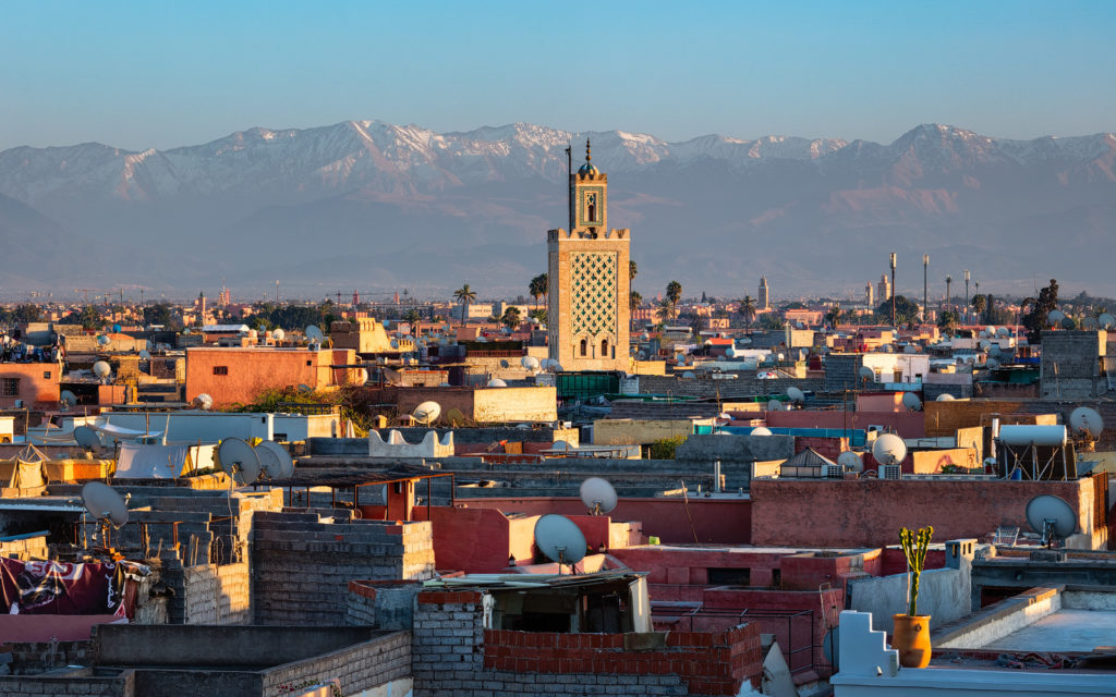 Marrakech Medina - with Wild Morocco (credit Michael Breitung)